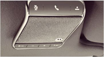 Motorola Roadster 2 Universal Bluetooth In-Car Speakerphone - Make sure your hunkaburning love is safe and hands free while on the road.  Initiate and respond to calls and texts with voice controls.  Listen to music or calls through your car speakers. This puppy even remembers where you parked. Boom!
