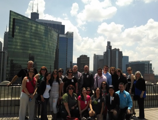 Rooftop river views at Motorola Headquarters Chicago.  Um, yeah that makes me want to take a lunch break!