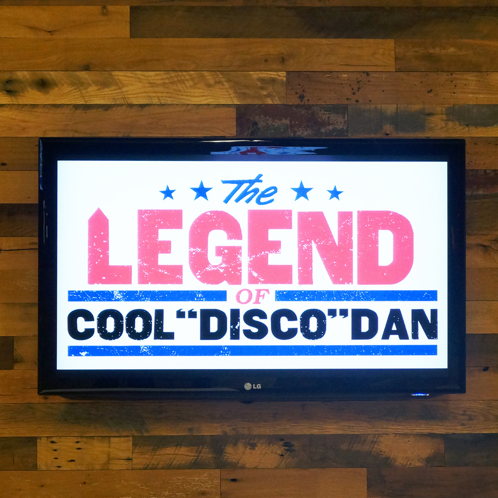 "THE LEGEND OF COOL ""DISCO"" DAN"