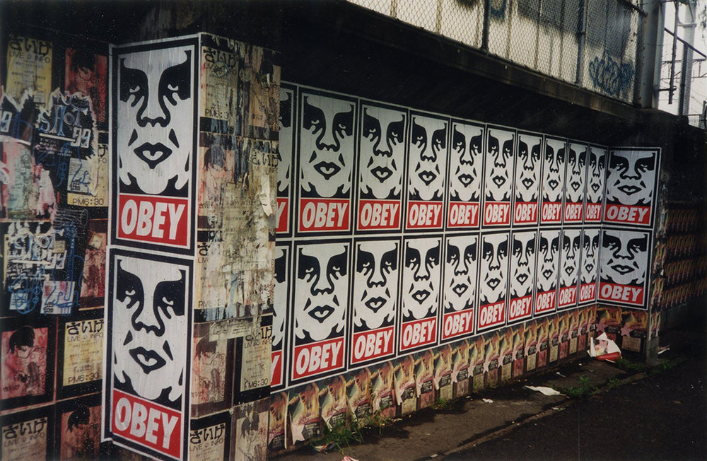 Shepard Fairey, Pasteup, Unknown, 1999