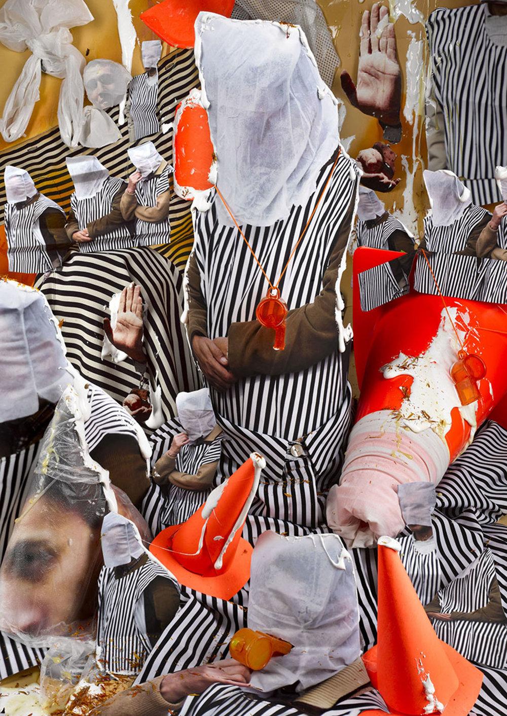 Sheida Solemani  -  Revolutionary Guard , 2015 Archival pigment print 24h x 18w inches