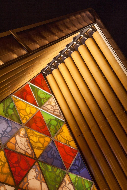 Transitional Cardboard Cathedral by Shigeru Ban