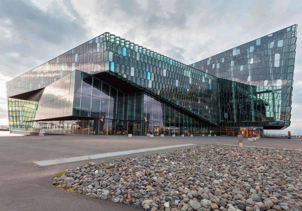 Harpa concert hall - reykjavik