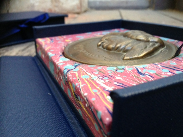 Custom crafted Box to hold Medallion
