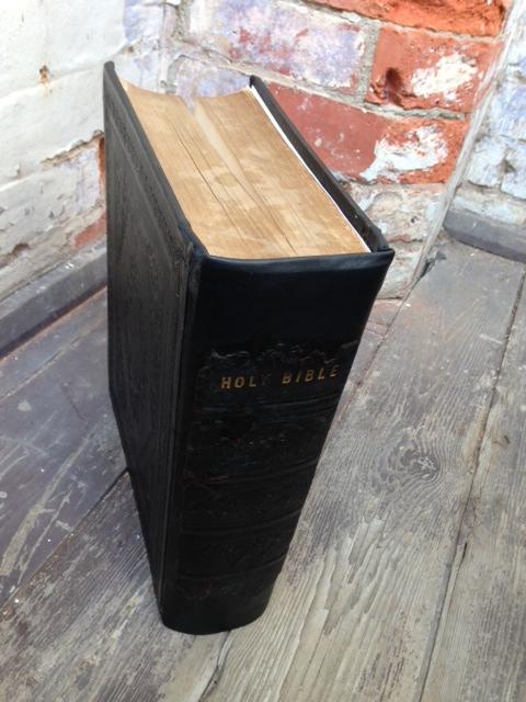 Victorian Bible Restoration