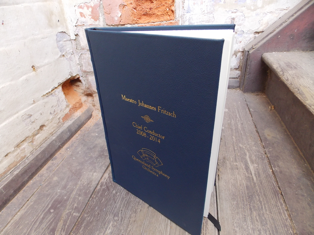 Custom made Signature Book