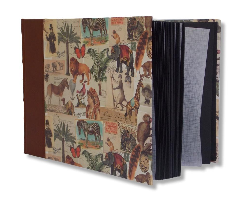 Safari Leather Landscape Album