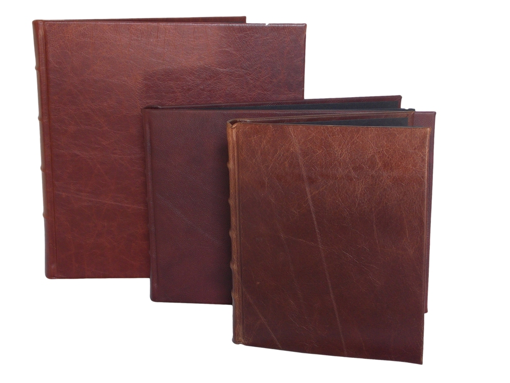 Leather Photo Albums in Brown