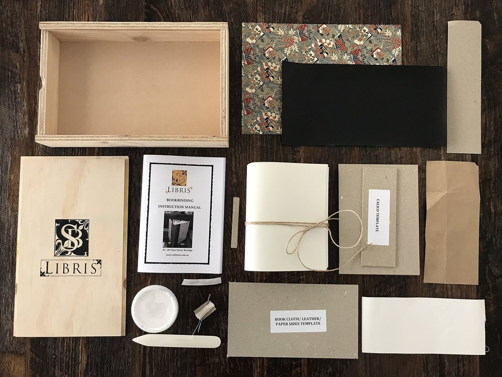 Bookbinding Kits - Craft your own journal