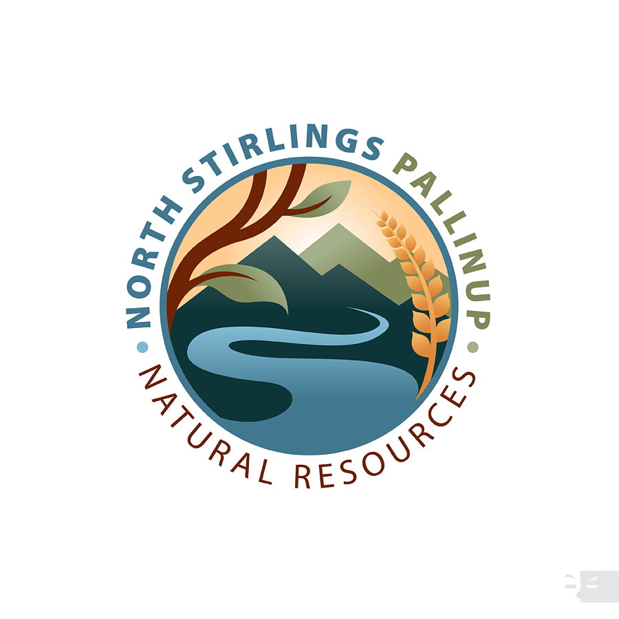 LOGO  DESIGN  North Stirlings Pallinup Natural Resources - Great Southern WA