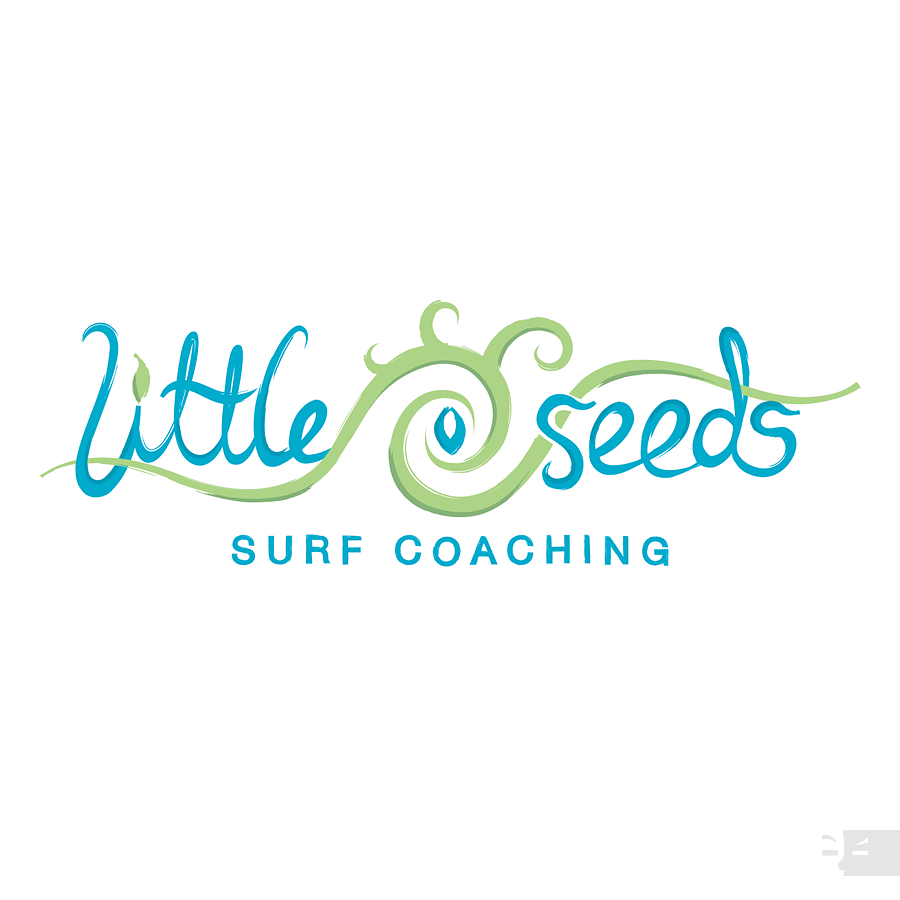 LOGO DESIGN  Little Seeds Surf Coaching - Great Southern WA