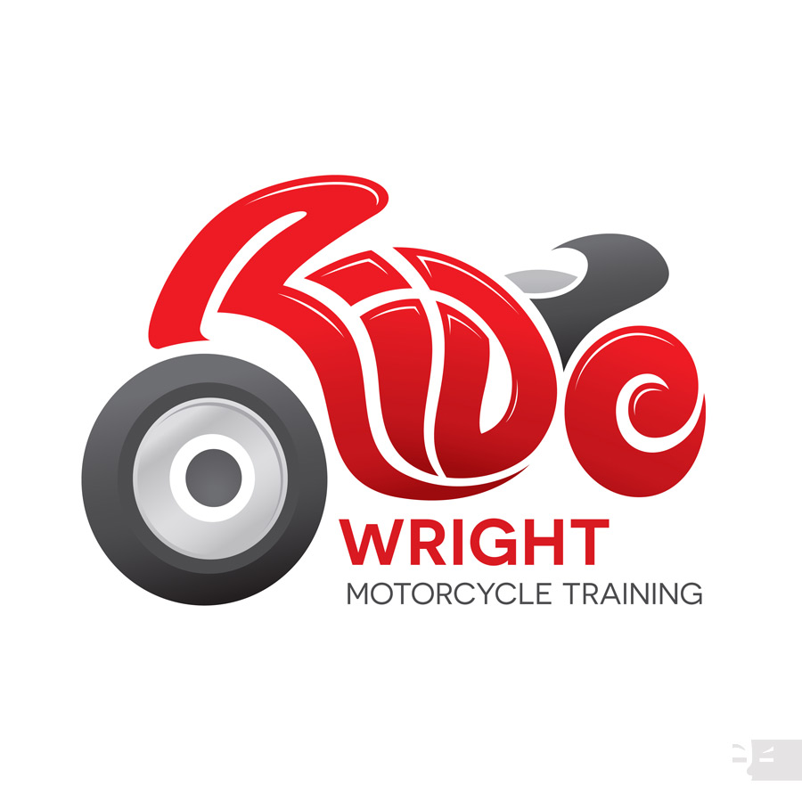 LOGO DESIGN  Ride Wright Motorcycle Training - Albany WA