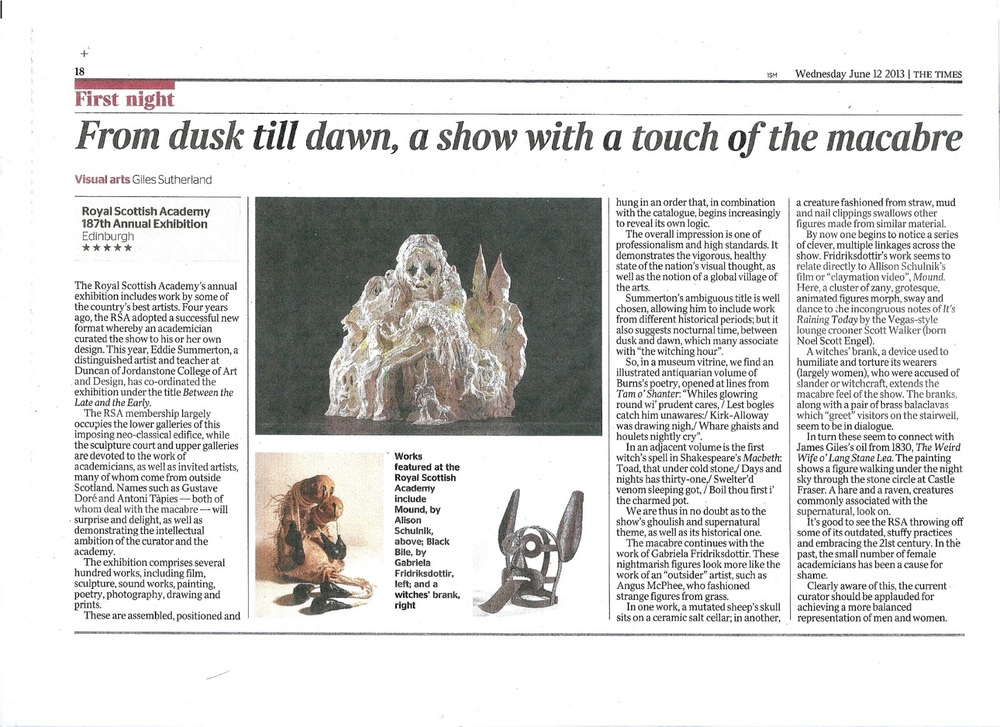 Review of RSA 2013 Giles Sutherland The Times 12-06-13.jpg