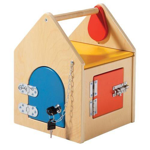 Maison aux serrures Hop Toys