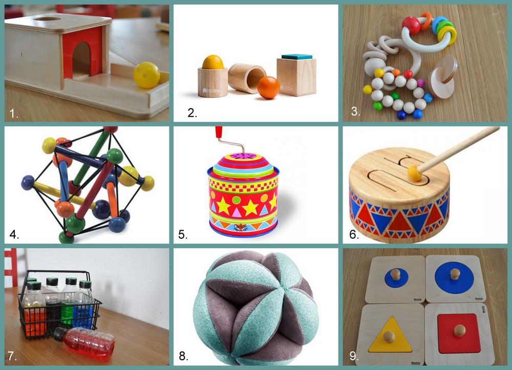 Bekannt Jeux et matériel pour les 7-8 mois — Le Petit Montessori DE55