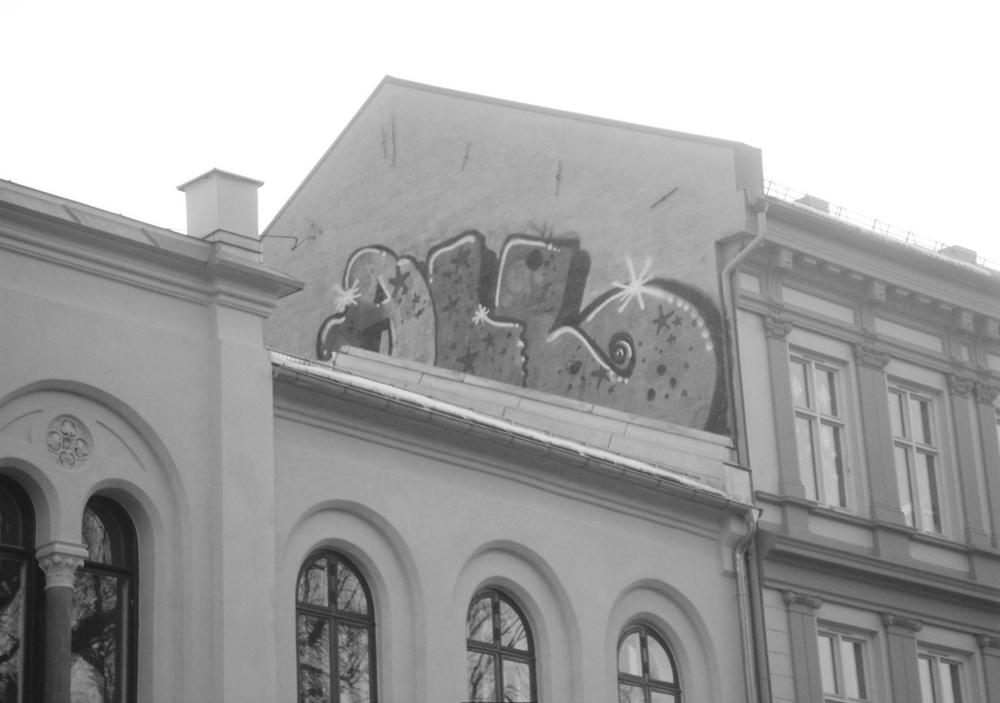 «ALL»-rooftop på Olaf Ryes Plass. Foto: anonym kunstner