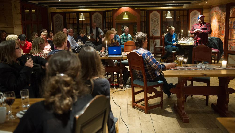 Fredagskos - en sosial møteplass i regi av Innovangsjon (Foto: Ida Strømstad/Innovangsjon)