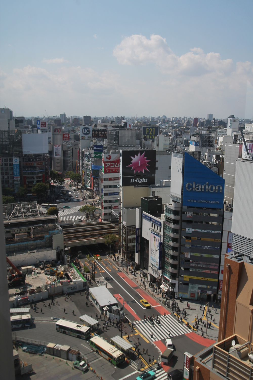 Tokyo-trafikken. Foto: Marit Knudsen