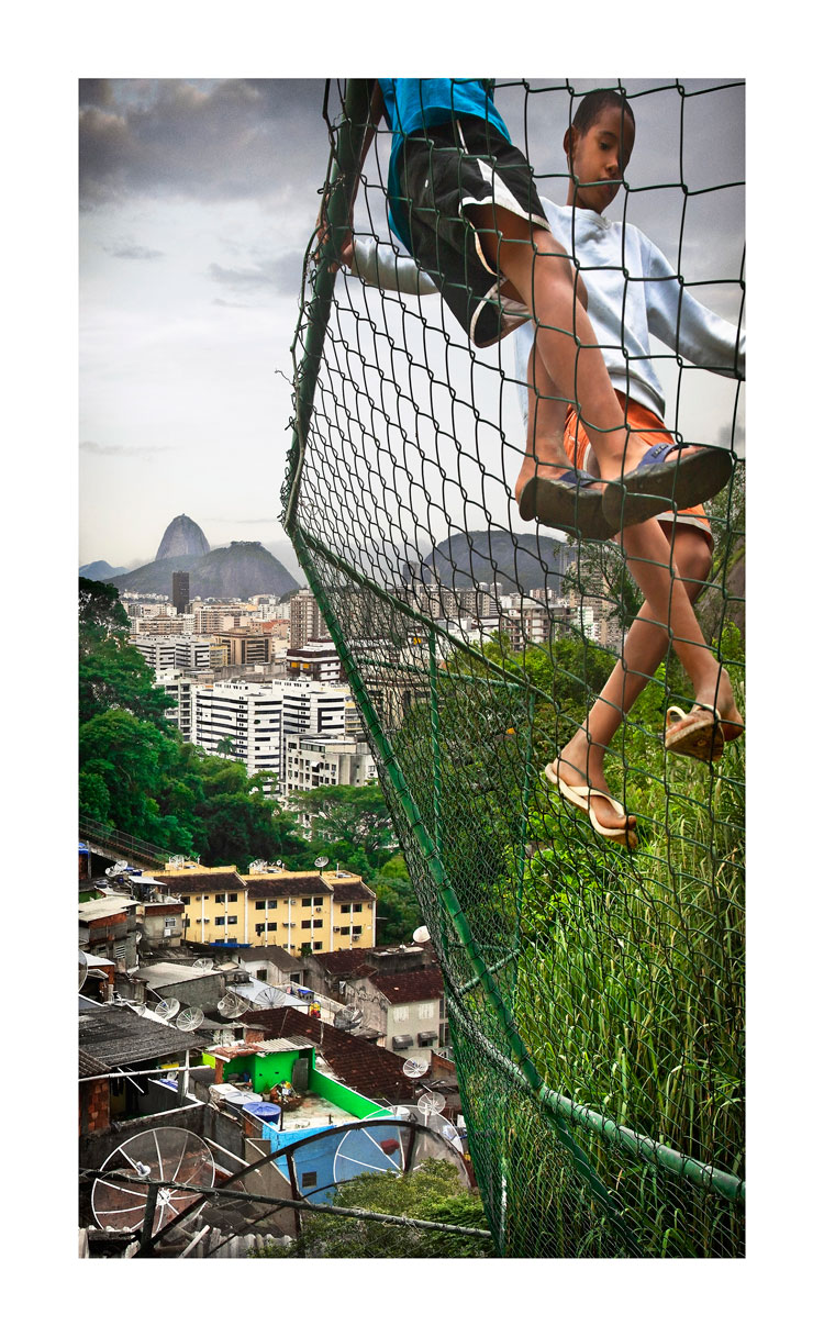 Claudia Jaguaribe, from 'Rio Entre Morros' (Rio Between Hills) series, 2010 1From 'Rio: Entre Morros', Rio de Janeiro, Brazil, 2010