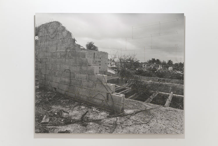Carlos Garaicoa. Untitled (Muros II), 2003. Installation view at Botin's Foundatio, Santander, Spain Foto: Oak Taylor-Smith