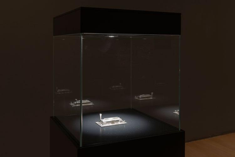 Carlos Garaicoa. Las Joyas de la Corona/The Crown Jewels, 2009. Installation view at Botin's Foundatio, Santander, Spain.Foto: Oak Taylor-Smith
