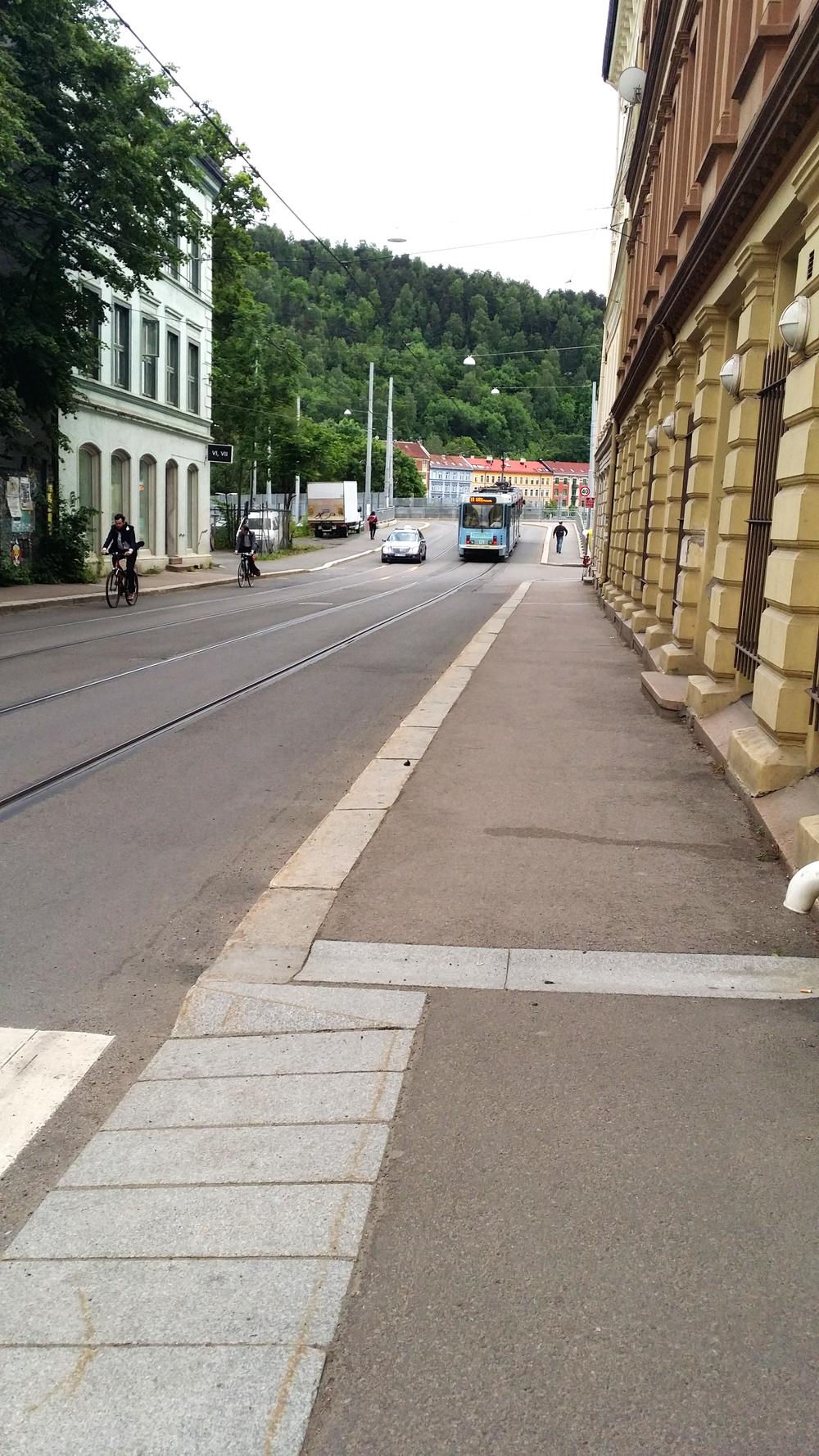 Jernbanelinje eller hovedtrasè for syklister?foto: Bendik Thun