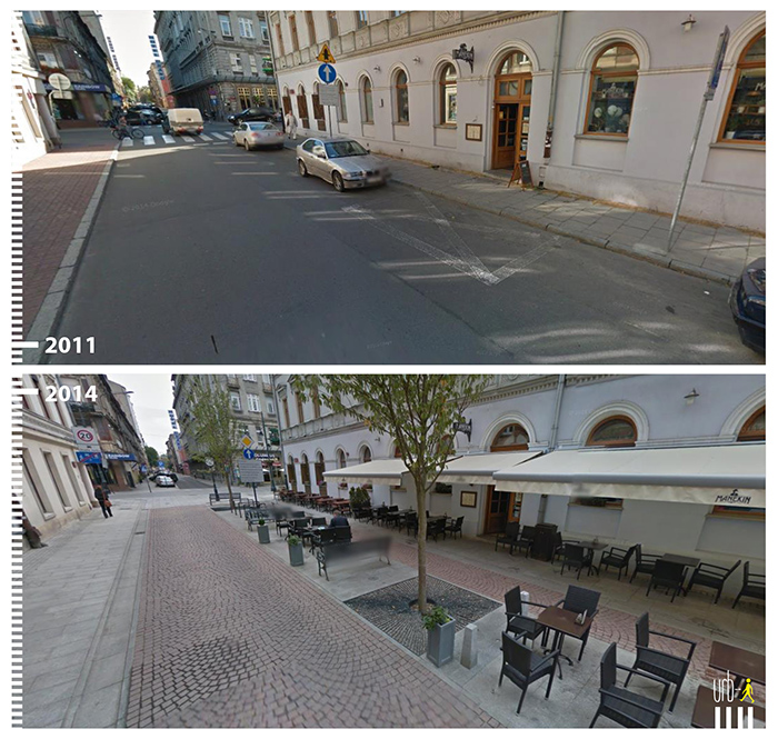 "Photo: 6 Sierpnia, Lodz,  ""Urb-I"" (Google Street View)"