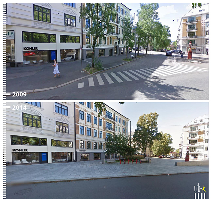 "Photo: Elisenbergveien, Oslo,  ""Urb-I"" (Google Street View)"