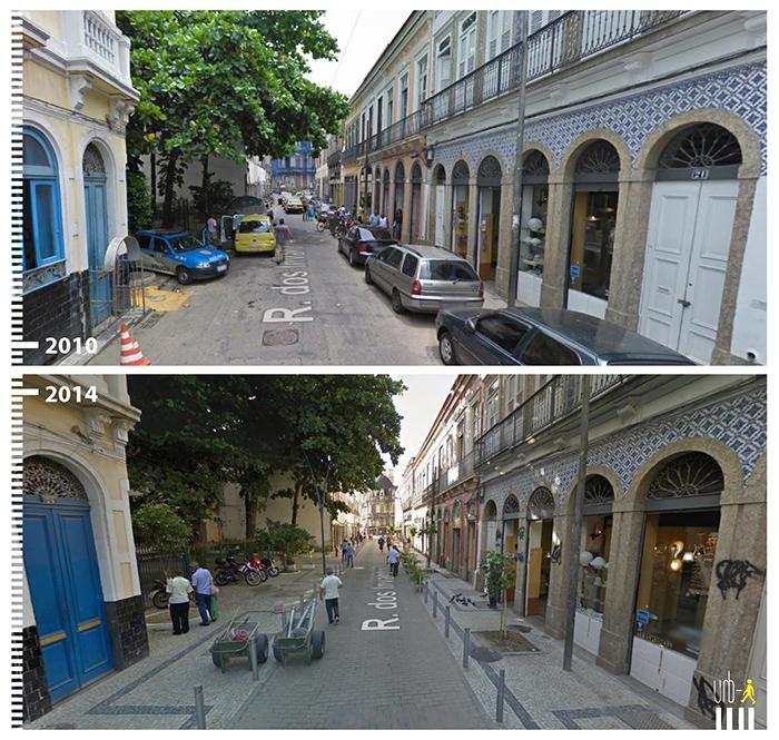 """Photo: Rua dos invalidos, Rio de Janeiro, , """"Urb-I"""" (Google Street View)"""