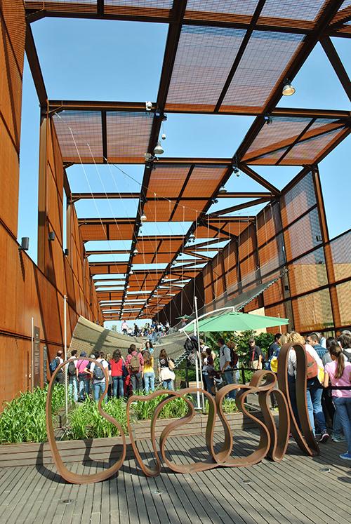Den brasilianske paviljongen.Foto: Ingunn Cecilie Hvidsten