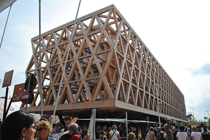 Den chilenske paviljongen.Foto: Ingunn Cecilie Hvidsten
