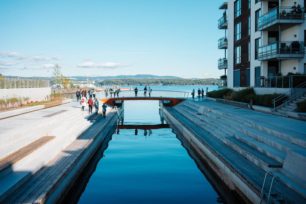 Ekskursjon til fortreffelige Fornebu. Foto: Christian Lycke