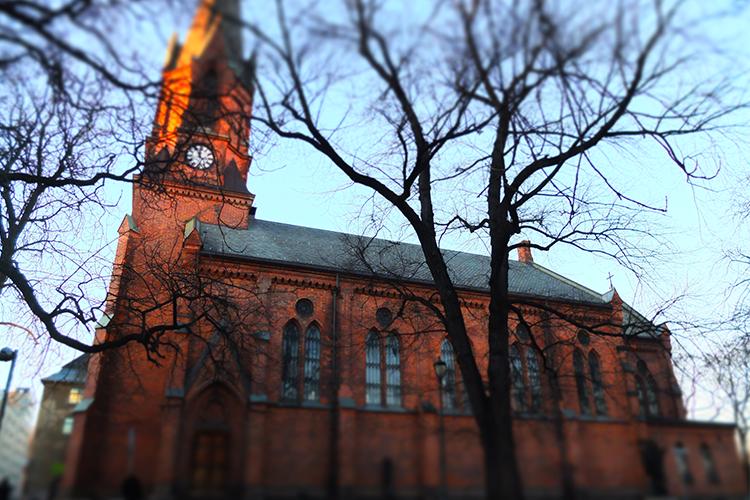 Kulturkirken Jakob i sin fulle prakt. Foto: Christina I. Martinsen. © Alle rettigheter