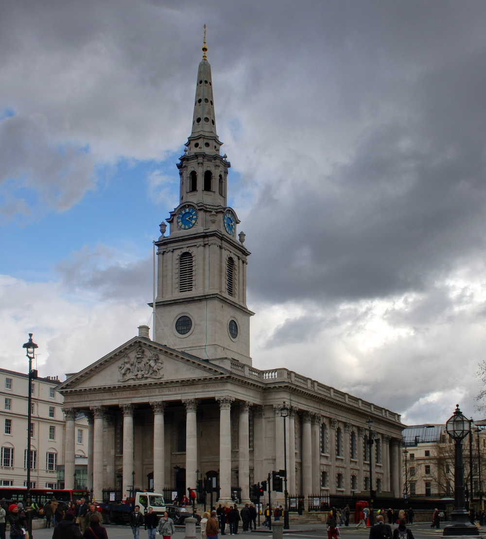 Saint Martin in the Fields Church. Credit: David Castor