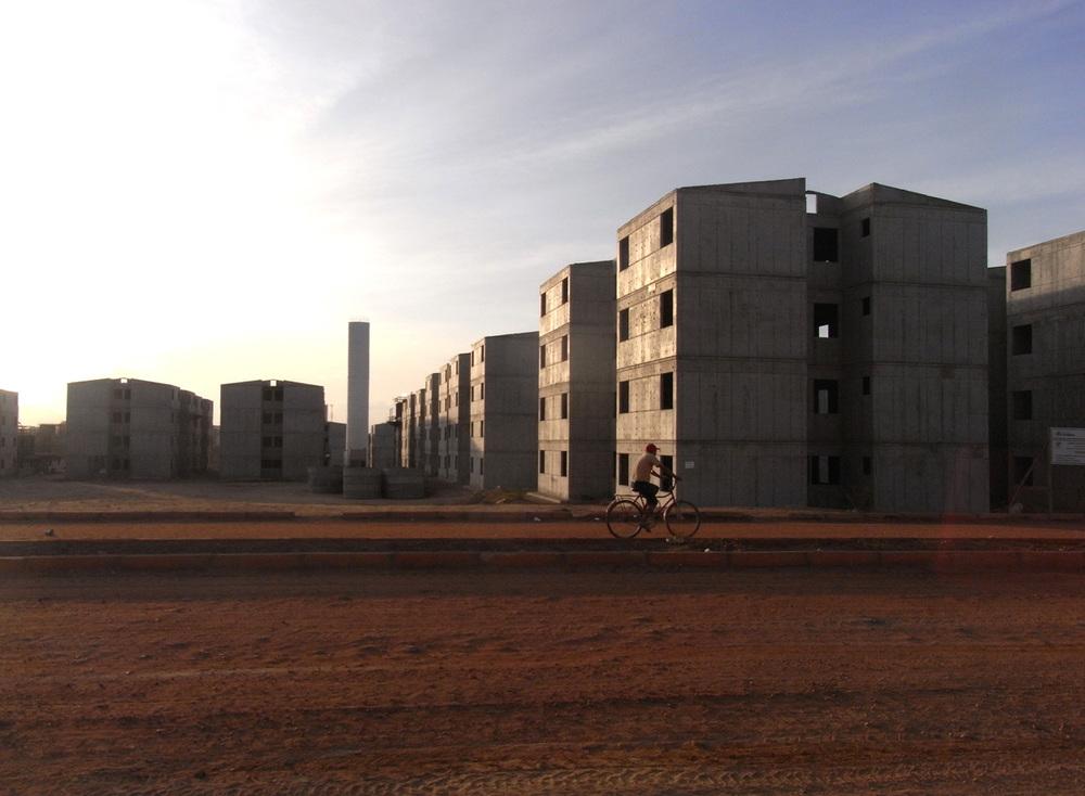 I 2014 var den storstilte byggingen av 5000 nye leiligheter i gang. Foto: Astrid Fadnes