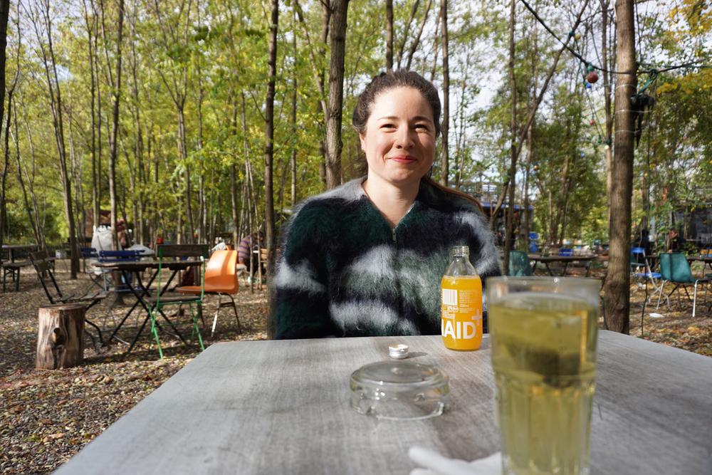 Nøgd besøk Foto:Anna Rosa Strassegger