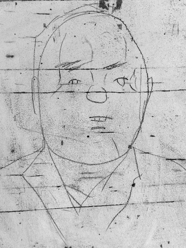 Haavard Nordli  Beboer på Nedre Grefsen og medlem av Aksjonsgruppa.  Illustrasjon: Anna Rosa Strassegger