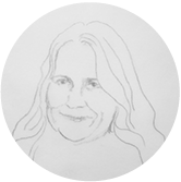 Karianne Hjallen:beboer og aktivist på Tøyen. Leder for Tøyen Sportsklubb  Illustrasjon:Ragnhild Augustsen
