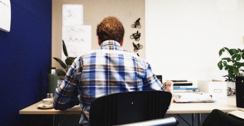 I arbeidet med masteroppgaven får man anledning til å fordype seg i et tema man er spesielt interessert i innenfor sitt fagfelt. Foto: Taran Aanderaa