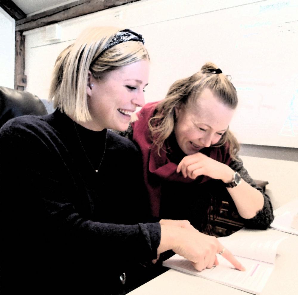 Å være to i arbeidet med masteren er både motiverende, morsomt og gir arbeidet større faglig tyngde.