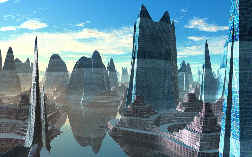 Flickr. Serendigity. Futuristic Architecture. CC