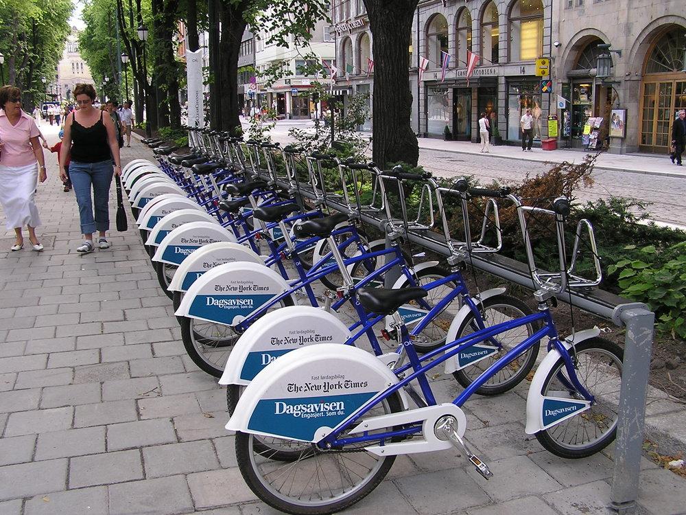 Det er ikke nok med sykkelsatsning; man må jobber for samtidighet i bruk av virkemidler. Foto: Creative Commons