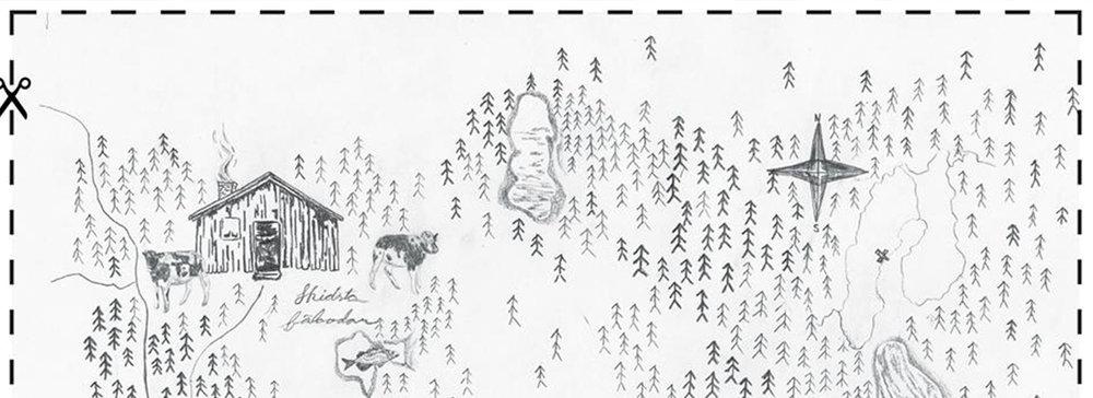 Bygda: Panoramascene ut mot Verden