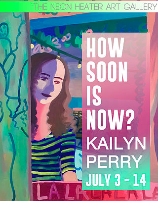 How Soon is Now? a solo show - opens July 3rd 2017 at  the Neon Heater Gallery , Findlay Ohio
