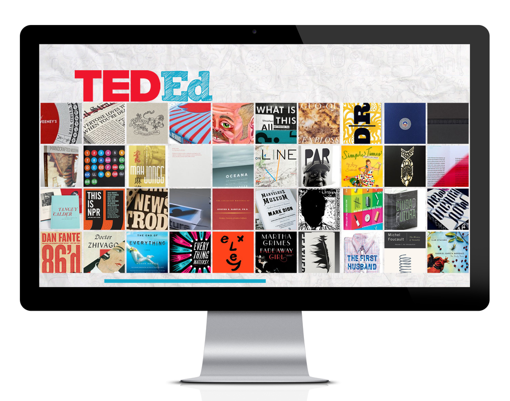 TED-Ed Homepage Concept