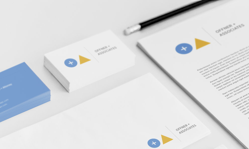 Brand Identity / Offner & Associates
