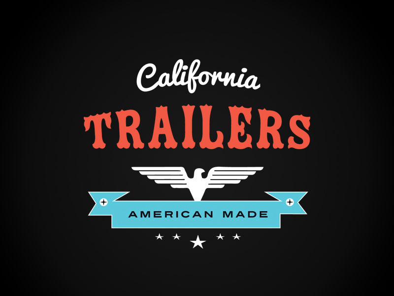 Brand Identity  / California Trailers