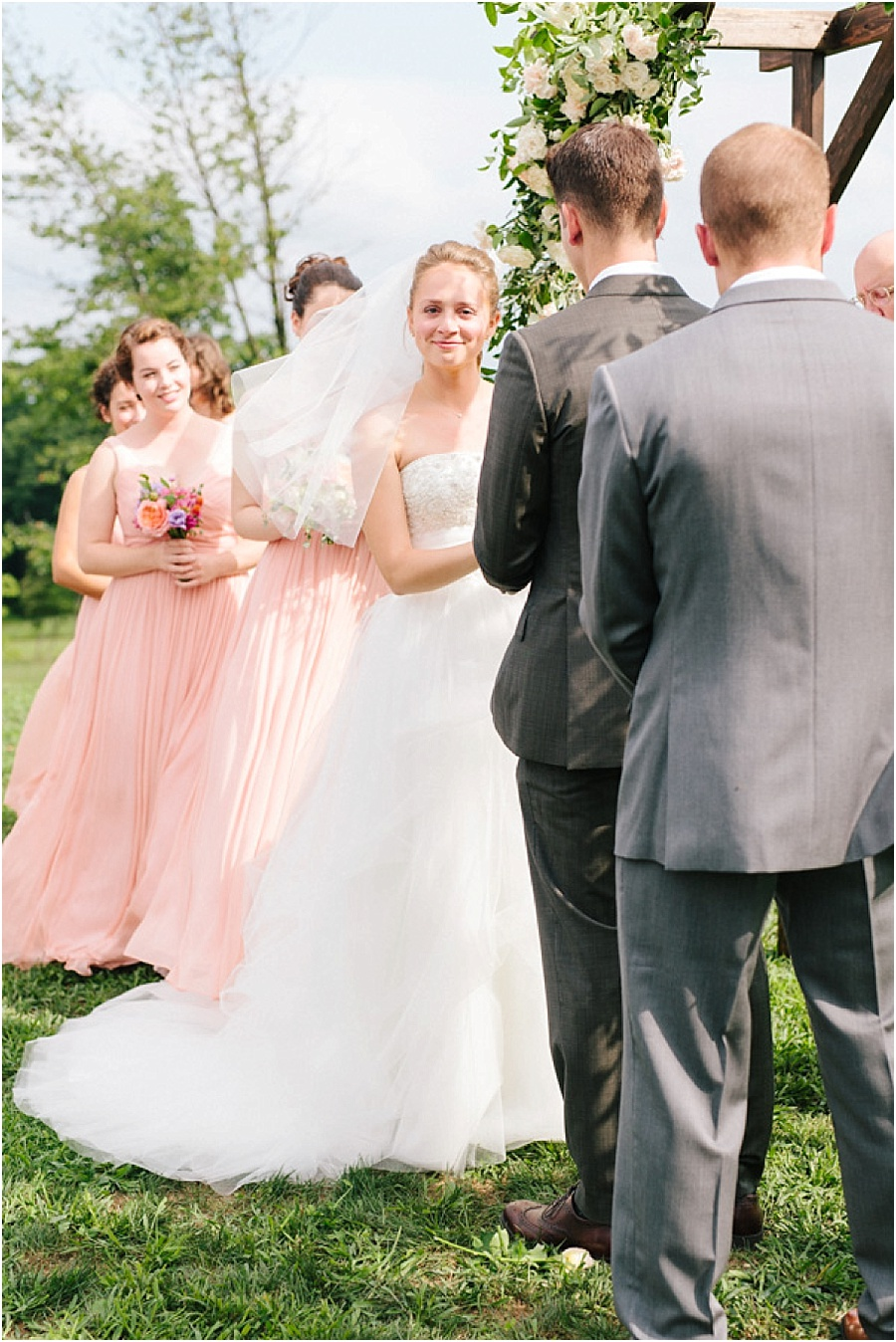 Whispering Oaks Vineyard Wedding