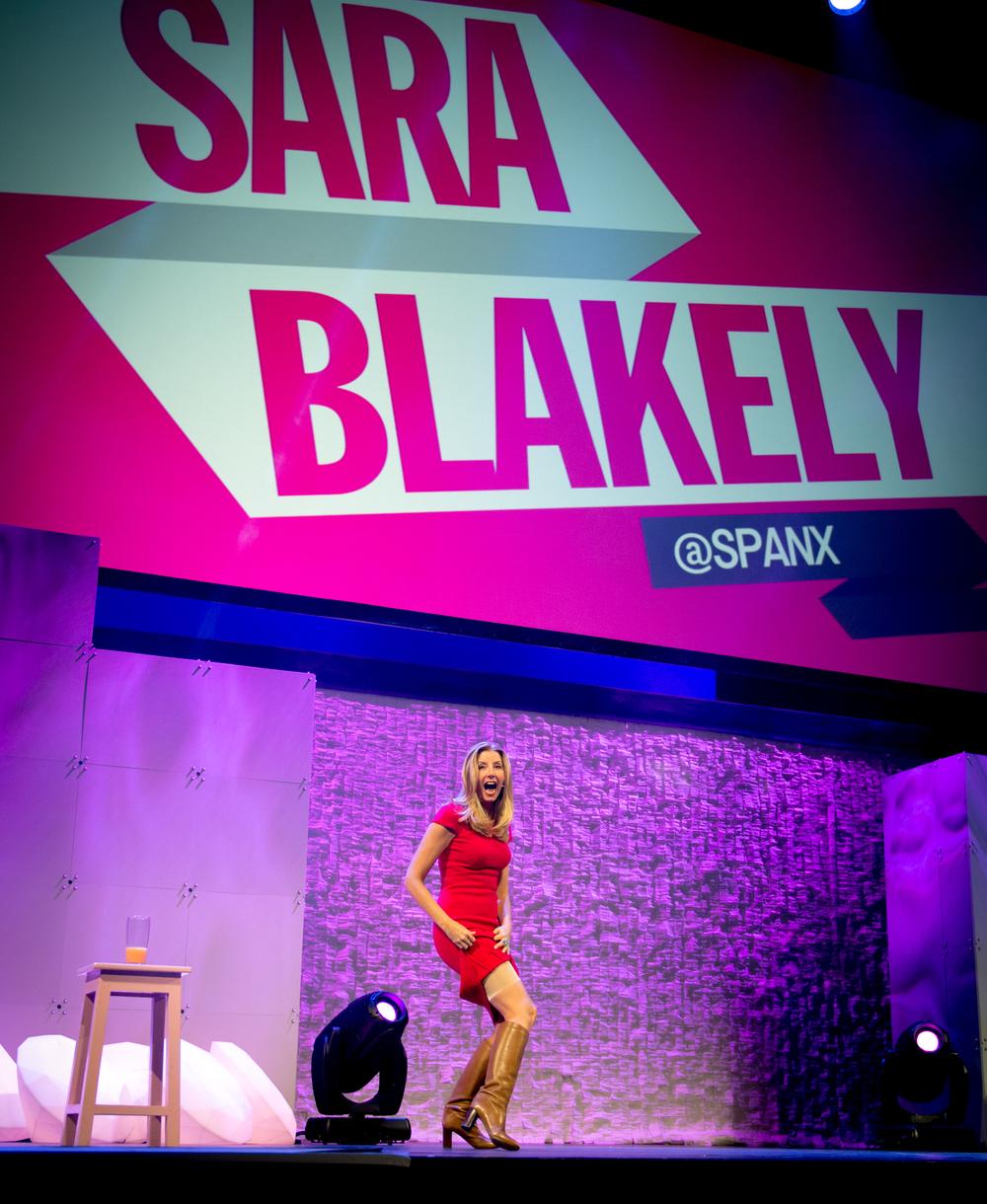 Sara Blakely of Spanx