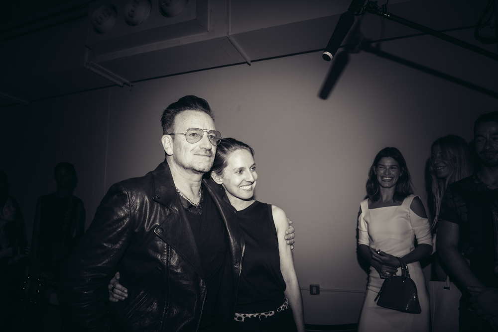 Bono and Danielle Sherman | Edun